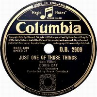 Cover Doris Day - Just One Of Those Things