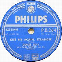 Cover Doris Day - Kiss Me Again, Stranger