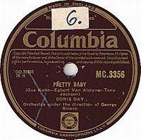 Cover Doris Day - Pretty Baby