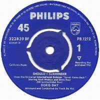 Cover Doris Day - Should I Surrender