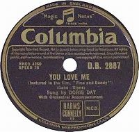 Cover Doris Day - You Love Me