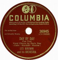 Cover Doris Day / Les Brown And His Orchestra - Day By Day