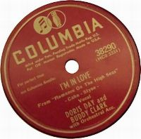Cover Doris Day And Buddy Clark - I'm In Love