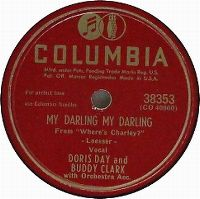 Cover Doris Day And Buddy Clark - My Darling, My Darling