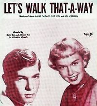 Cover Doris Day & Johnnie Ray - Let's Walk That-A-Way