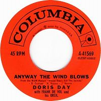 Cover Doris Day With Frank De Vol & His Orchestra - Anyway The Wind Blows