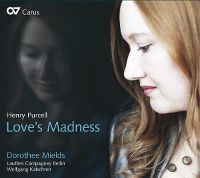 Cover Dorothee Mields - Love's Madness - Henry Purcell