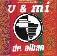 Cover Dr. Alban - U & Mi