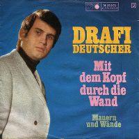 Cover Drafi Deutscher - Mit dem Kopf durch die Wand