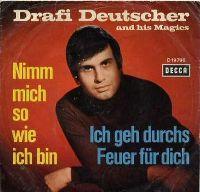 Cover Drafi Deutscher And His Magics - Nimm mich so wie ich bin