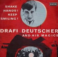 Cover Drafi Deutscher And His Magics - Shake Hands! Keep Smiling!