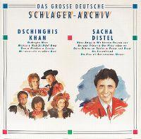 Cover Dschinghis Khan / Sacha Distel - Das grosse deutsche Schlager-Archiv