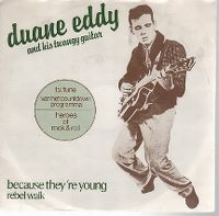 Cover Duane Eddy And His Twangy Guitar - Because They're Young