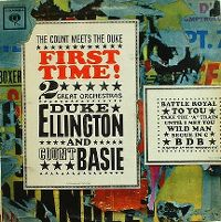 Cover Duke Ellington And Count Basie - First Time! The Count Meets The Duke