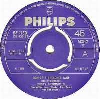 Cover Dusty Springfield - Son-Of-A Preacher Man