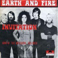 Cover Earth & Fire - Invitation