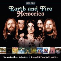 Cover Earth & Fire - Memories - Complete Album Collection