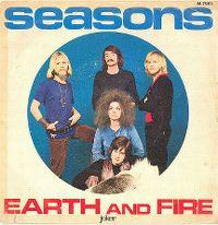 Cover Earth & Fire - Seasons