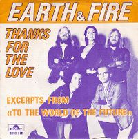 Cover Earth & Fire - Thanks For The Love
