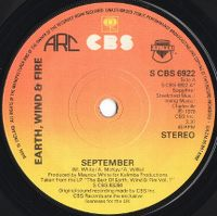 Cover Earth, Wind & Fire - September