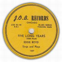 Cover Eddie Boyd - Five Long Years