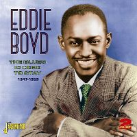 Cover Eddie Boyd - The Blues Is Here To Stay 1947-1959