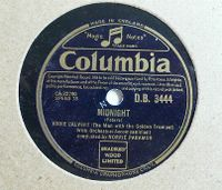 Cover Eddie Calvert With Norrie Paramor And His Orchestra - Midnight