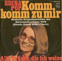 Cover Edina Pop - Komm, komm zu mir