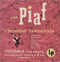 Cover Edith Piaf - Chansons Parisiennes