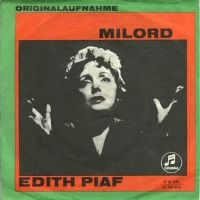 Cover Edith Piaf - Milord