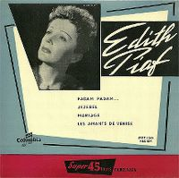 Cover Edith Piaf - Padam... padam