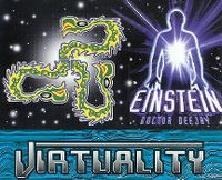 Cover Einstein Doctor Deejay - Virtuality
