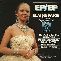 Cover Elaine Paige - Don't Cry For Me, Argentina