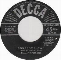 Cover Ella Fitzgerald - Lonesome Gal