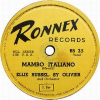 Cover Ellie Russell - Mambo Italiano