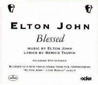 Cover Elton John - Blessed