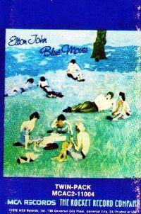 Cover Elton John - Blue Moves