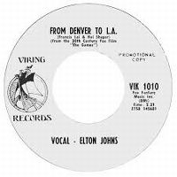 Cover Elton John - From Denver To L.A.
