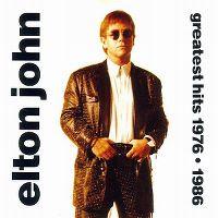 Cover Elton John - Greatest Hits 1976–1986