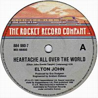 Cover Elton John - Heartache All Over The World