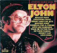 Cover Elton John - London & New York - Elton John Live!
