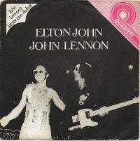 Cover Elton John Band feat. John Lennon And The Muscle Shoals Horns - I Saw Her Standing There