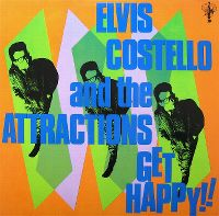 Cover Elvis Costello And The Attractions - Get Happy!!