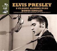 Cover Elvis Presley - 8 Classic Albums Plus Bonus Singles