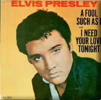 Cover Elvis Presley - A Fool Such As I