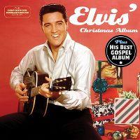 Cover Elvis Presley - Elvis' Christmas Album / His Best Gospel Album