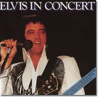 Cover Elvis Presley - Elvis In Concert