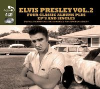 Cover Elvis Presley - Four Classic Albums Plus EP's And Singles