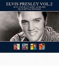 Cover Elvis Presley - Four Classic Albums Plus EP's & Singles