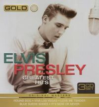 Cover Elvis Presley - Gold - Greatest Hits